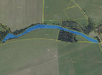 Prodej louky 28 165 m² Dvorce, okres Bruntál (32 Kč/m2)