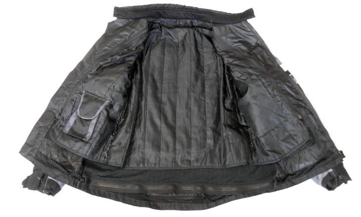 Textilní bunda vel.L/52, Odep.termovložka - Náhradní díly a příslušenství pro motocykly