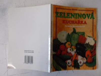 Kniha Klasika  kuchařka Zelenina recepty na mnoho druhů