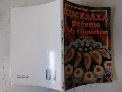 Kniha Klasika Pečení zákusky dorty rolády kuchařka cukrářské recepty