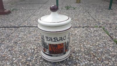 Starší porcelánová dóza na tabák