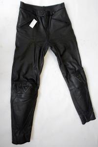 Kožené kalhoty vel.110 prodloužené, Silný chránič kolen,PERFEKTNÍ STAV