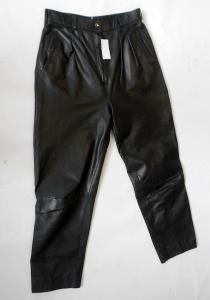 Kožené kalhoty vel. 42