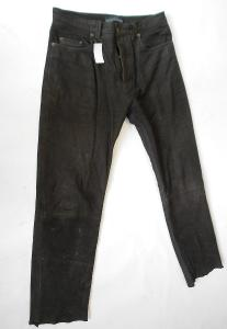 Kožené kalhoty Vel.34