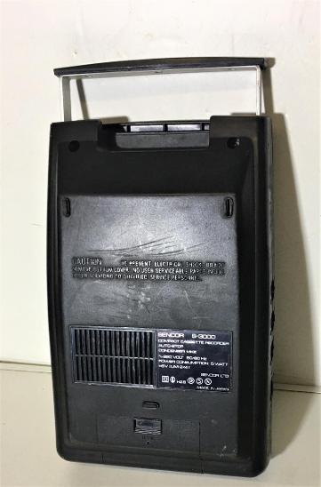 LEGENDÁRNÍ KAZETOVÝ MAGNETOFON / SENCOR S3000  - TV, audio, video