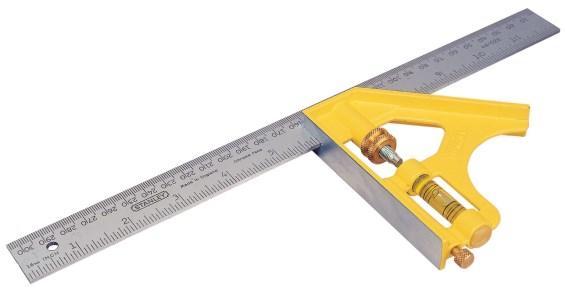 STANLEY Multifunkční úhelník 300mm  2-46-028