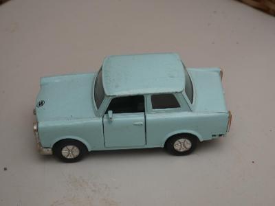 Kovový Trabant 601 DDR 1989