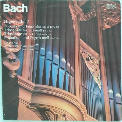 J. S. Bach • Hans Otto an der Silbermannorgel - Orgelwerke 2