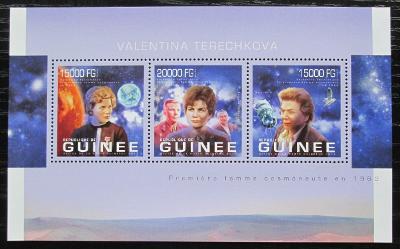 Guinea 2013 Valentina Těreškovová Mi# 9902-04 Kat 20€ 1974