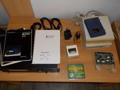 Zvukový modul  Kurzweil K2500R s příslušenstvím