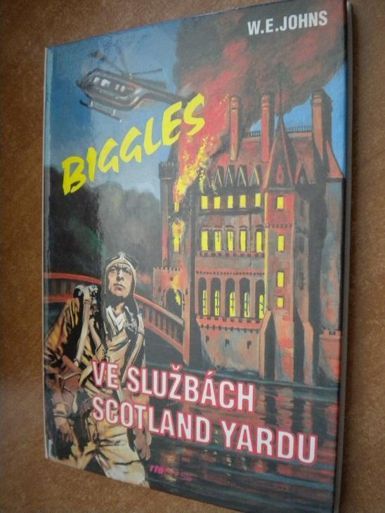 Johns W.E. - Biggles ve službách Scotland Yardu - Knihy