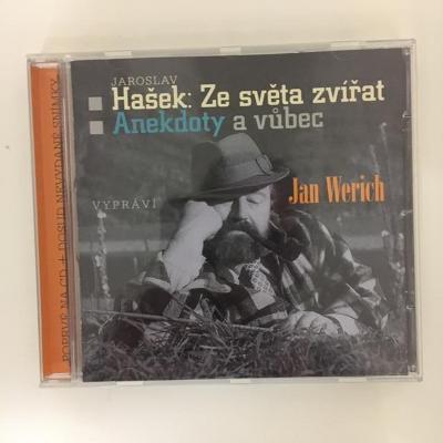 Jaroslav Hašek, Jan Werich – Ze Světa Zvířat / Anekdoty A Vůbec - CD