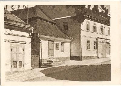 ČESKÁ SKALICE - stará škola - Náchod