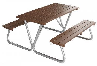 Dřevěný zahradní nábytek Piknik Nevada 01 trim