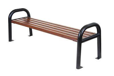 Dřevěná zahradní lavice City 02 trim