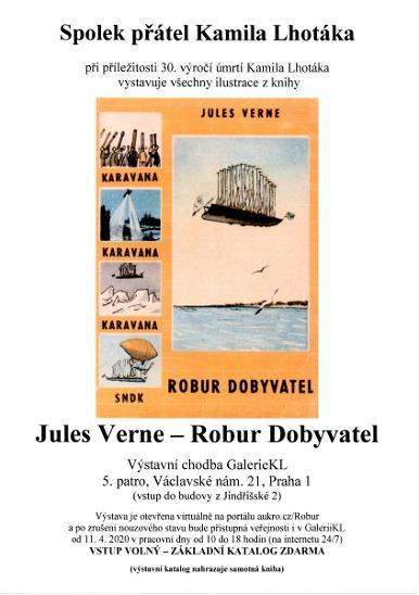 Kamil Lhoták - Jules Verne: bar. ofset z knihy Robur Dobyvatel 2/O-5 - Umění