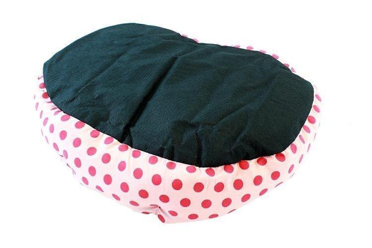 Útulný pelíšek pro kočku psa růžový - Zvířata