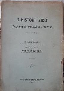 K historii Židů v Čechách, na Moravě a v Slezsku II. 1577-1620