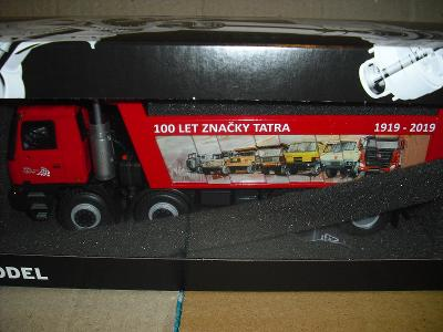 KADEN : TATRA 815 8x8 TERRNO - CERVENA :  VYROCI 100 LET TATRY  !!!!!!