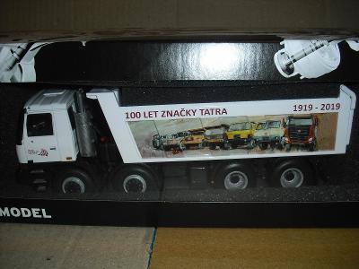 KADEN : TATRA 815 8x8 TERRNO -  BILA  :  VYROCI 100 LET TATRY  !!!!!!