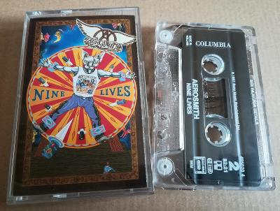 MC AEROSMITH - NINE LIVES/1997