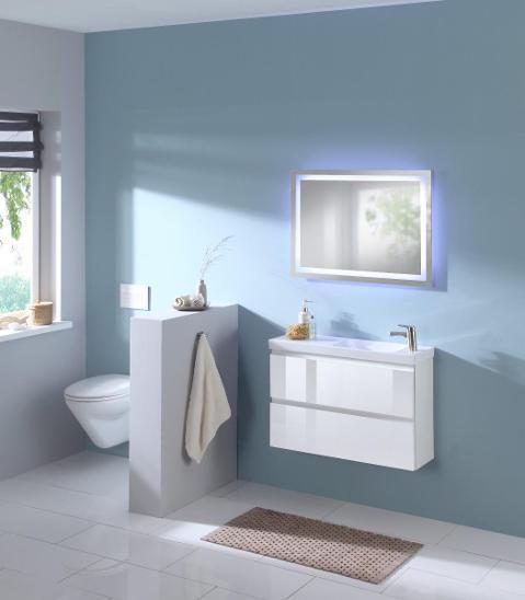 Nástěnné zrcadlo Trento s LED osvětlením 60x80 (27991209) _E484 - Zařízení