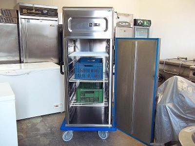 PROFI chladnice ROLLER nerez - i na přepravky
