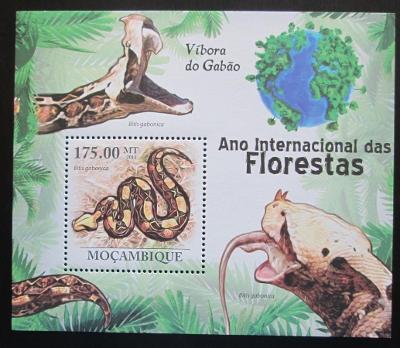 Mosambik 2011 Hadi Mi# Block 413 Kat 10€ 1989
