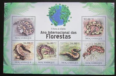Mosambik 2011 Hadi Mi# 4328-33 Kat 14€ 1990