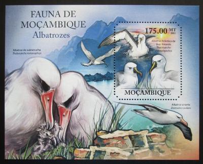Mosambik 2011 Albatros Mi# Block 502 Kat 10€ 1991