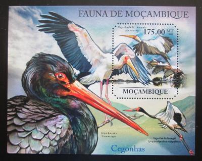 Mosambik 2011 Čápi Mi# Block 500 Kat 10€ 1992