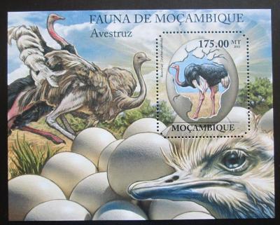 Mosambik 2011 Pštrosi Mi# Block 503 Kat 10€ 1992