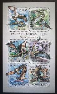 Mosambik 2011 Orlovec Mi# 4917-22 Kat 12€ 1992