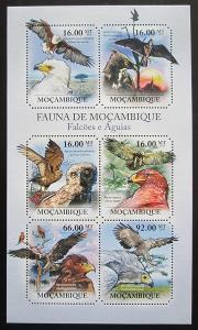 Mosambik 2011 Dravci Mi# 4924-29 Kat 12€ 1992