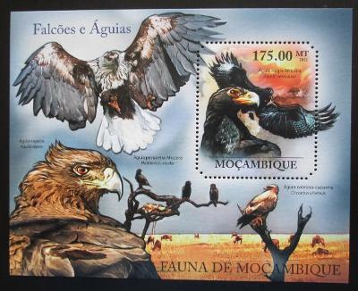 Mosambik 2011 Dravci Mi# Block 506 Kat 10€ 1992