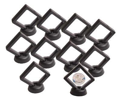 Membránové rámečky na sběratelské předměty - 7 x 7 cm (balení 10 ks)