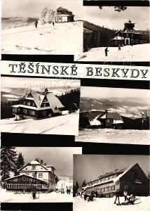Beskydy Frýdek Místek T46 Těšínské Beskydy Turistické Chaty