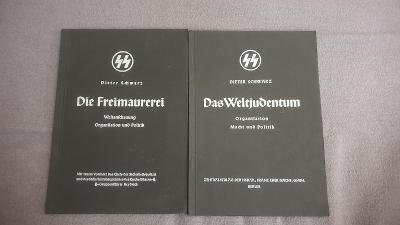 2x publikace jednotek SS-Reinhard Heydrich-1938-Třetí říše-NESEHNATELN