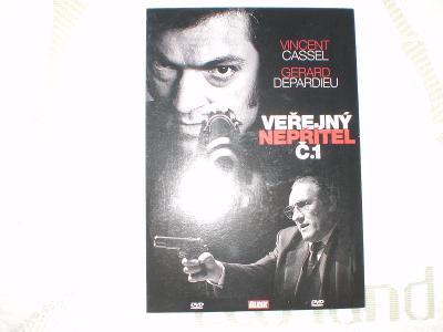 Veřejný nepřítel č. 1 (DVD), akční krimithriller, stav - jako nové