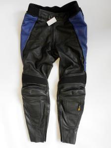 """Kožené kalhoty """"POLO"""" vel. M/50, Chrániče kolen"""