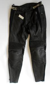 """Kožené kalhoty """"VANUCCI"""" Vel. M/50 Chrániče kolen"""