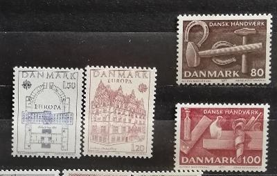 Dánsko 1978 - komplet + navíc, EUROPA CEPT 5£
