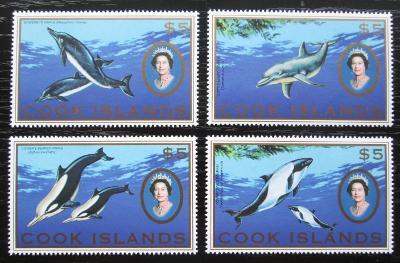 Cookovy ostrovy 2007 Mořská fauna TOP SET Mi# 1599-1602 Kat 40€ 1998