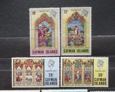 Kajmanské ostrovy 1973 - komplet, Velikonoce a umění