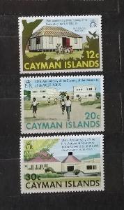 Kajmanské ostrovy 1974 - komplet, výročí karibské univerzity