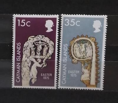 Kajmanské ostrovy 1975 - komplet, Velikonoce, artefakty