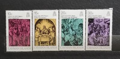Kajmanské ostrovy 1978 - komplet, Velikonoce, Durer umění