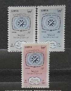 Libye 1967 - komplet, mezinárodní rok turismus
