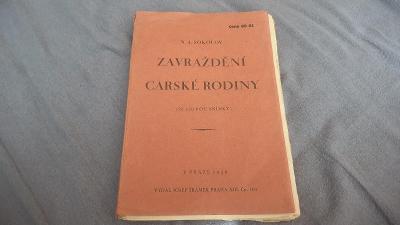 N.A.Sokolov-Zavraždění carské rodiny-1926-se 120foto snímky