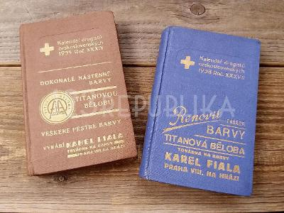 Staré katalogy kalendáře čsl. drogistů 1935 1938